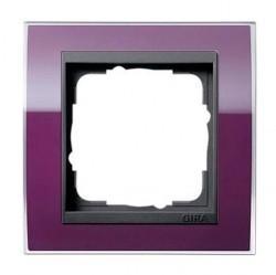 Рамка 1 пост Gira EVENT CLEAR, темно-фиолетовый глянцевый, 0211758