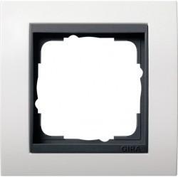 Рамка 1 пост Gira EVENT, белый, 0211808
