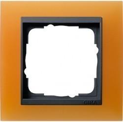 Рамка 1 пост Gira EVENT, оранжевый матовый, 021187