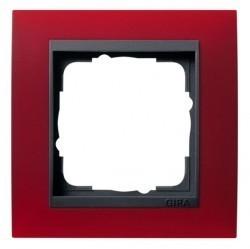 Рамка 1 пост Gira EVENT, красный матовый, 021188