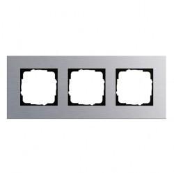 Рамка 3 поста Gira ESPRIT, алюминий, 021317