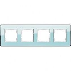 Рамка 4 поста Gira ESPRIT, салатовый, 0214518