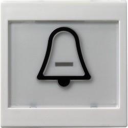 Клавиша Gira SYSTEM 55, белый матовый, 021727