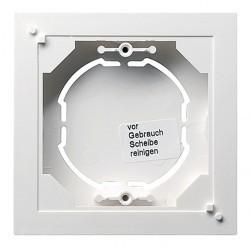 System55 Коробка плоская для открытого монтажа, глянцевый белый