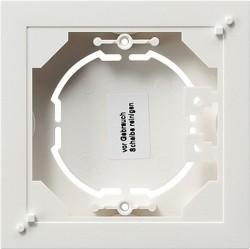 E2 Event Esprit Коробка плоская для открытого монтажа, глянцевый белый