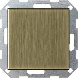 Заглушка Gira SYSTEM 55, бронза, 0268603