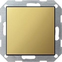 Заглушка Gira SYSTEM 55, латунь, 0268604