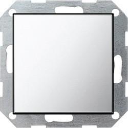Заглушка Gira SYSTEM 55, хром, 0268605