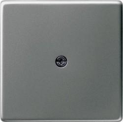 Накладка на вывод кабеля Gira EDELSTAHL, нержавеющая сталь, 027420