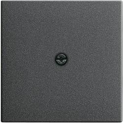 Накладка на вывод кабеля Gira SYSTEM 55, антрацит, 027428