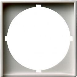 System55 Накладка с вырезом для приборов с панелью 50 50 мм DIN 49 078, матовый белый