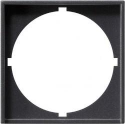 System55 Накладка с вырезом для приборов с панелью 50 50 мм DIN 49 079, антрацит