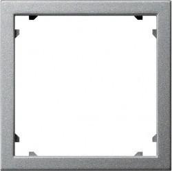 System55 Адаптер для приборов с накладкой 45 45 мм (Alcatel), алюминий