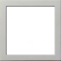 F100 Адаптер с квадратным отверстием 55х55 мм, глянцевый белый