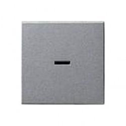 Клавиша с линзой Gira SYSTEM 55, алюминий, 029026