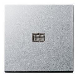 Клавиша с линзой Gira SYSTEM 55, алюминий, 029826