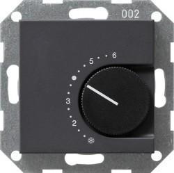 Термостат комнатный Gira SYSTEM 55, антрацит, 039028