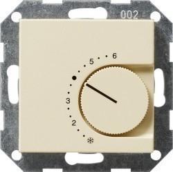 Термостат комнатный Gira SYSTEM 55, кремовый глянцевый, 039101