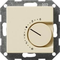 Термостат комнатный Gira SYSTEM 55, кремовый глянцевый, 039601