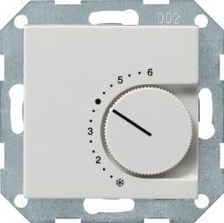 Термостат комнатный Gira SYSTEM 55, белый глянцевый, 039603