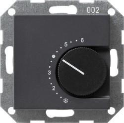 Термостат комнатный Gira SYSTEM 55, антрацит, 039628