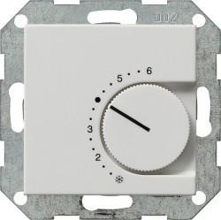 Термостат комнатный Gira SYSTEM 55, белый матовый, 039727