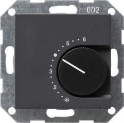 Термостат комнатный Gira SYSTEM 55, антрацит, 039728