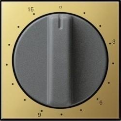 Накладка на таймер Gira SYSTEM 55, латунь, 0640604