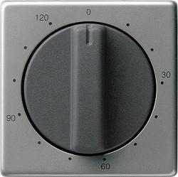 Накладка на таймер Gira E22, нержавеющая сталь, 064220
