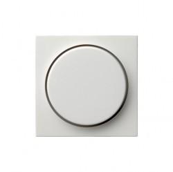 Накладка на светорегулятор Gira SYSTEM 55, белый глянцевый, 065003
