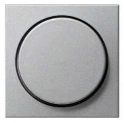 Накладка на светорегулятор Gira SYSTEM 55, алюминий, 065026