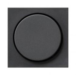 Накладка на светорегулятор Gira SYSTEM 55, антрацит, 065028