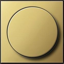 Накладка на светорегулятор Gira SYSTEM 55, латунь, 0650604