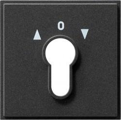 Накладка на поворотный выключатель Gira TX 44, антрацит, 066467
