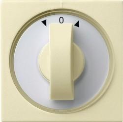 Накладка на жалюзийный выключатель Gira SYSTEM 55, кремовый глянцевый, 066601