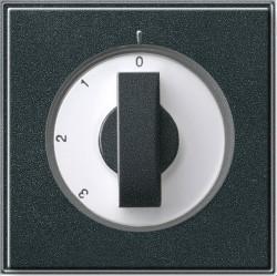 Накладка на поворотный выключатель Gira TX 44, антрацит, 066967