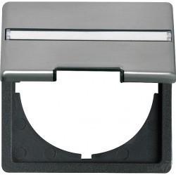 Edelstahl Адаптер с вырезом 50 50 мм, скошенные края