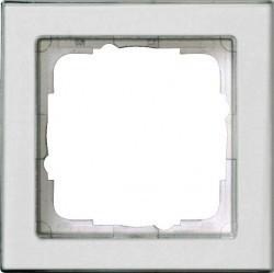 Рамка 1 пост Gira E2, белый матовый, 071122