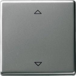 Накладка на жалюзийный выключатель Gira EDELSTAHL, нержавеющая сталь, 082220