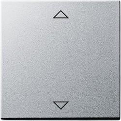 Клавиша для жалюзийного выключателя Gira SYSTEM 55, алюминий, 082226