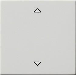 Клавиша для жалюзийного выключателя Gira SYSTEM 55, белый матовый, 082227