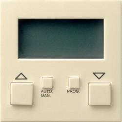 Накладка на устройство управления жалюзи Gira SYSTEM 55, кремовый глянцевый, 084101