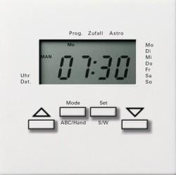 Накладка на жалюзийный выключатель Gira F100, белый глянцевый, 0841112