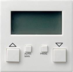 Накладка на устройство управления жалюзи Gira SYSTEM 55, белый матовый, 084127