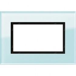 Рамка 1,5 поста без перегородки Gira ESPRIT, салатовый, 100118