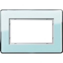 Рамка 1,5 поста без перегородки Gira ESPRIT, салатовый, 1001518