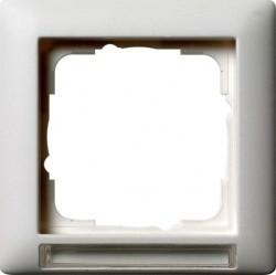 Рамка 1 пост Gira EVENT, белый, 109127
