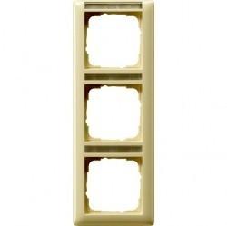 Рамка 3 поста Gira EVENT, вертикальная, белый глянцевый, 110301