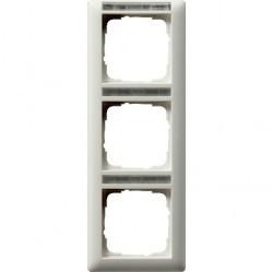 Рамка 3 поста Gira EVENT, вертикальная, белый, 110327