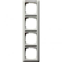 Рамка 4 поста Gira EVENT, вертикальная, белый, 111427